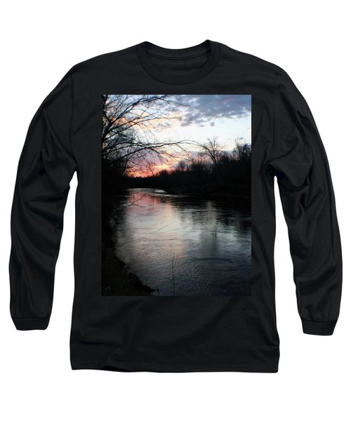 The River At Sunset Long Sleeve T-Shirt