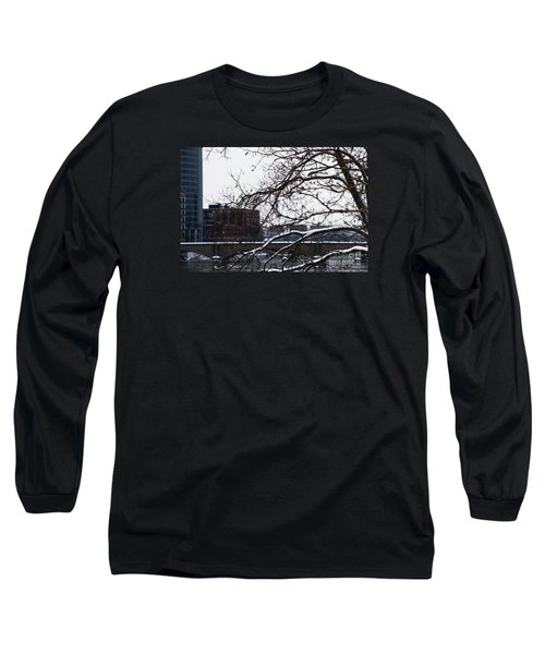 The River Divide Long Sleeve T-Shirt by Linda Shafer