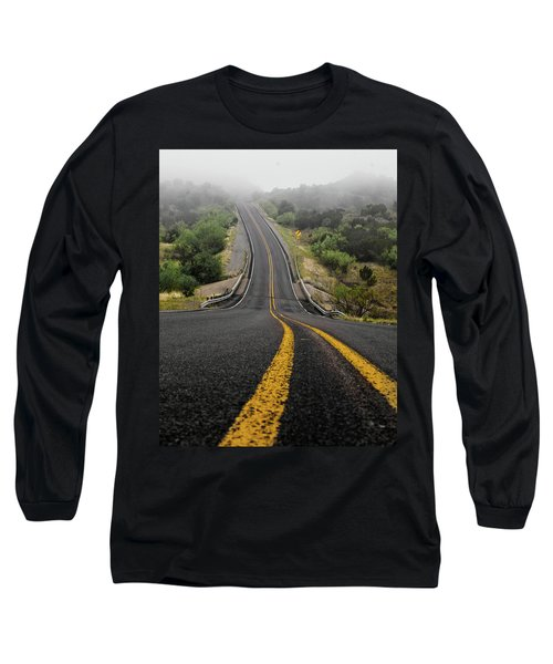 The Road Goes On Forever And The Party Never Ends Long Sleeve T-Shirt