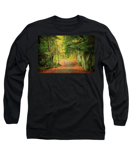 The Road To The Mill  Long Sleeve T-Shirt