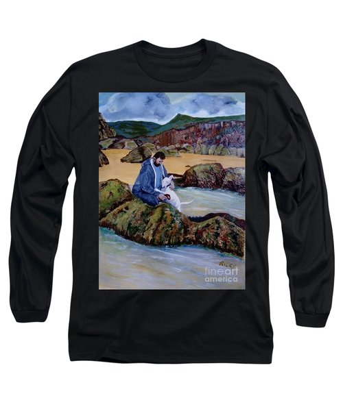 The Rock Pool - Painting Long Sleeve T-Shirt