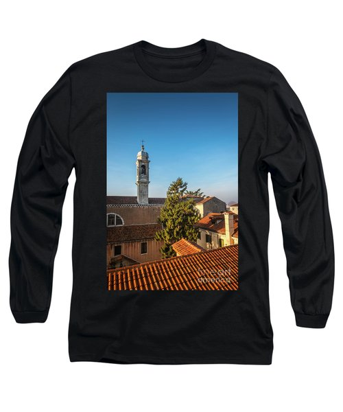 The Roofs Of Venice Long Sleeve T-Shirt