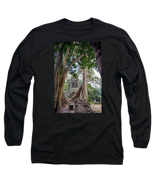 Long Sleeve T-Shirt featuring the photograph The S Gate by Arik S Mintorogo