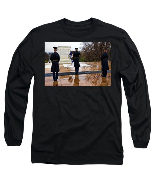 The Salute Long Sleeve T-Shirt by Christopher Holmes