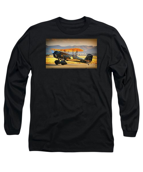 The Scott Familys 1929 Stearman  Version 2 Long Sleeve T-Shirt