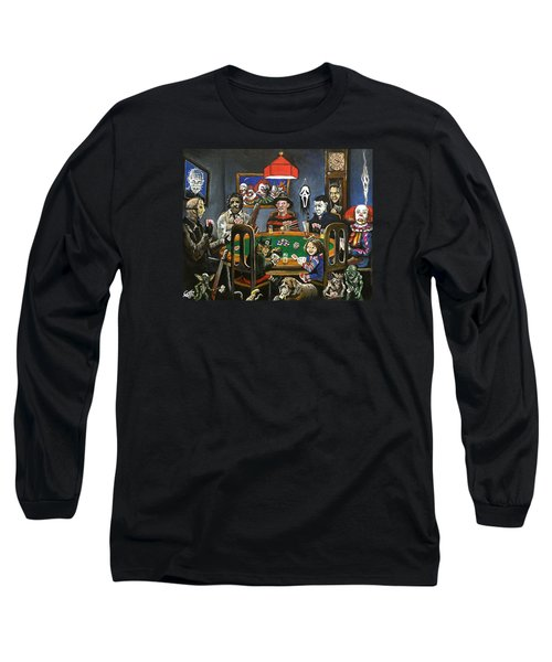 The Second Horror Game Long Sleeve T-Shirt by Tom Carlton