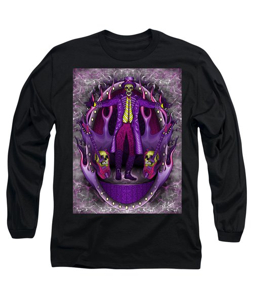 Long Sleeve T-Shirt featuring the painting The Show Stopper by Raphael Lopez