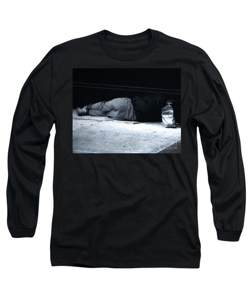 Long Sleeve T-Shirt featuring the photograph The Sidewalks Of New York by RC deWinter