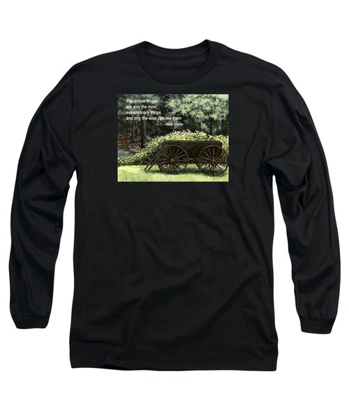 The Simple Things Long Sleeve T-Shirt