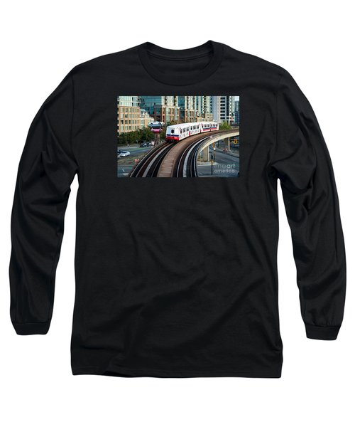 The Skytrain In Vancouver Long Sleeve T-Shirt