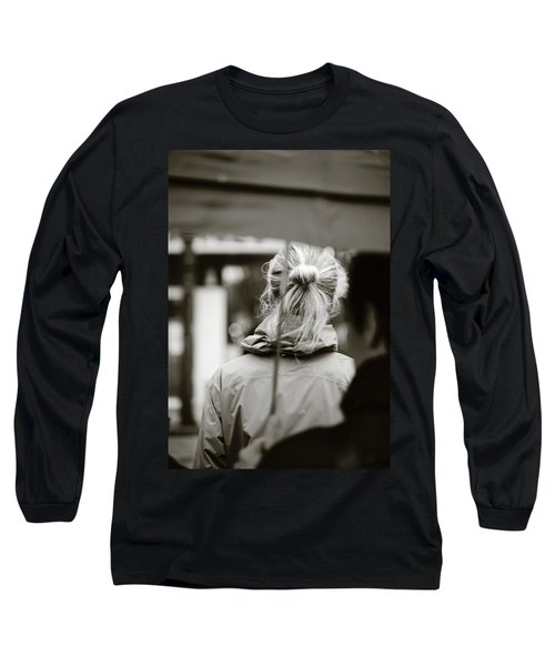 Long Sleeve T-Shirt featuring the photograph The Smell Of Your Hair by Empty Wall
