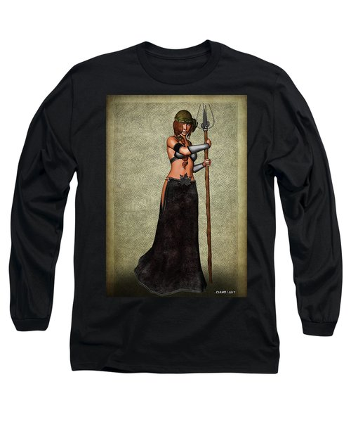 The Sorceress Mage Long Sleeve T-Shirt
