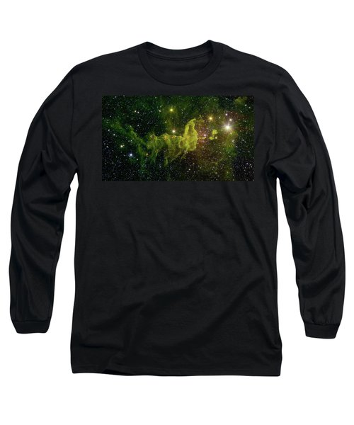 Long Sleeve T-Shirt featuring the photograph The Spider And The Fly Nebula by NASA JPL - Caltech