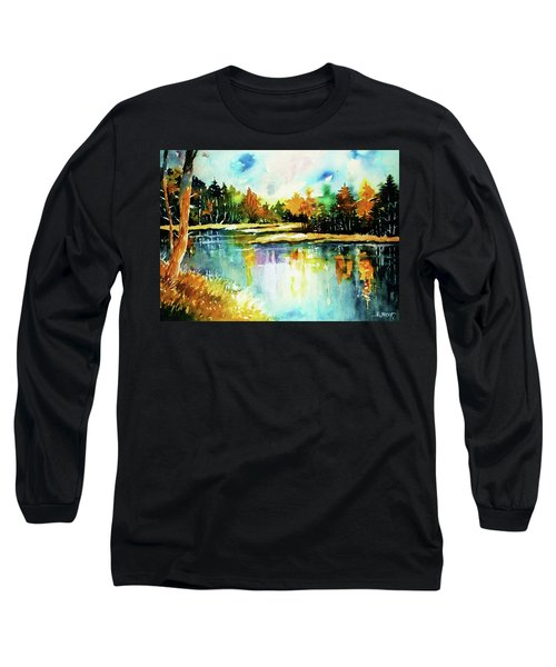 The Splendor And  Color Of Autumn Long Sleeve T-Shirt by Al Brown