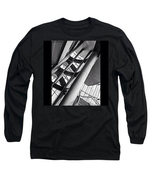 The #stairway In Our #downtown #houston Long Sleeve T-Shirt