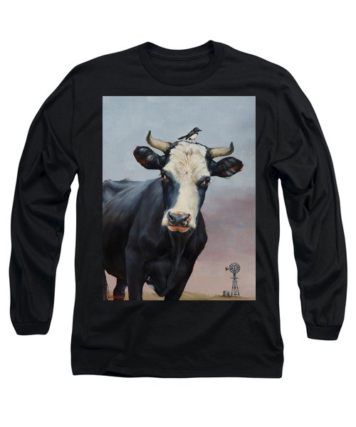 The Stare Long Sleeve T-Shirt by Margaret Stockdale