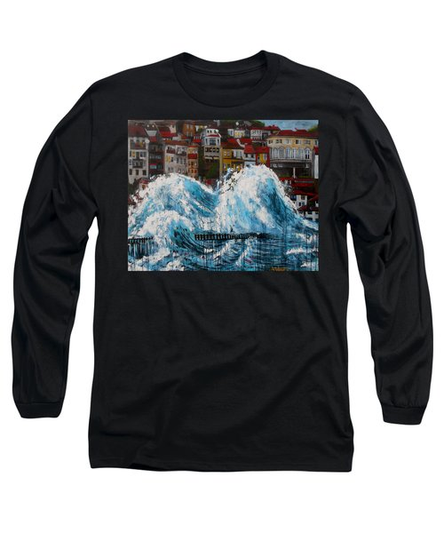 The Storm- Large Work Long Sleeve T-Shirt