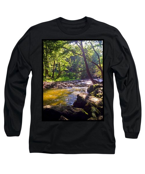 Long Sleeve T-Shirt featuring the photograph The Stream by Shawn Dall