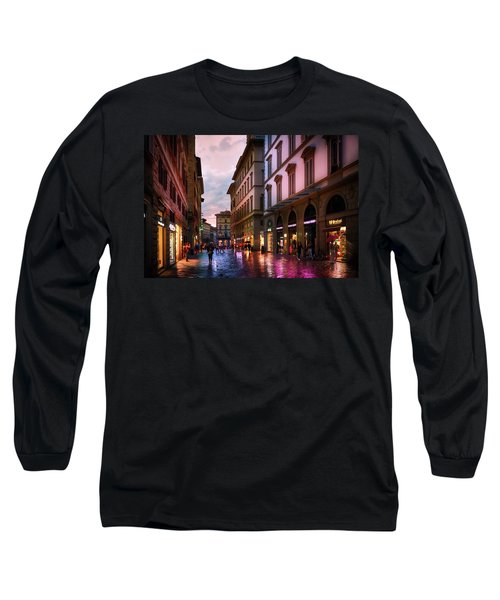 The Streets Of Florence Long Sleeve T-Shirt