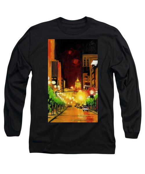 The Streets Run With Crimson And Gold Long Sleeve T-Shirt