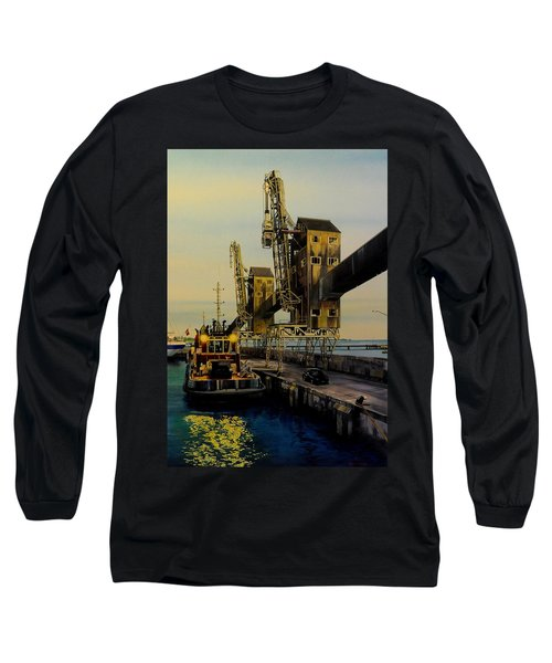The Sugar Towers Of Barbados Long Sleeve T-Shirt