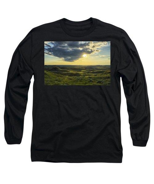 The Sun Shines Through A Cloud Long Sleeve T-Shirt