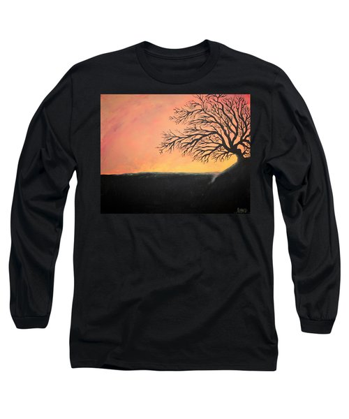 The Sun Was Set Long Sleeve T-Shirt