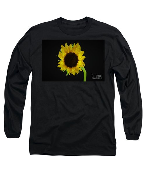 The Sunflower Long Sleeve T-Shirt by Ray Shrewsberry