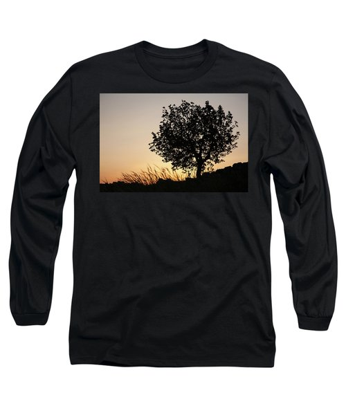 Sunset On The Hill Long Sleeve T-Shirt