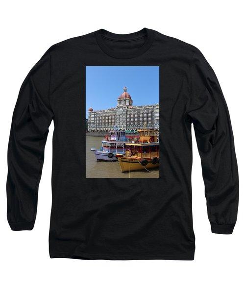 The Taj Palace Hotel And Boats, Mumbai Long Sleeve T-Shirt