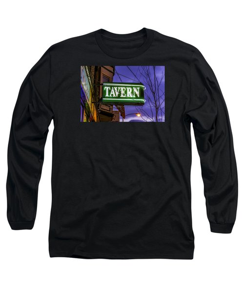 The Tavern On Lincoln Long Sleeve T-Shirt by Raymond Kunst