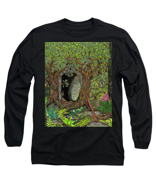 The Temple Of Math Long Sleeve T-Shirt