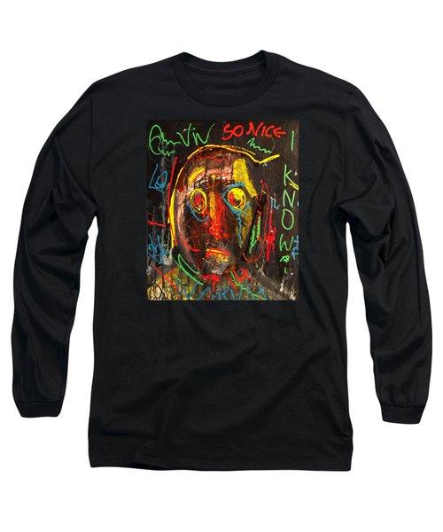 A Beauty Never Dies ........... Long Sleeve T-Shirt by Sir Josef - Social Critic -  Maha Art