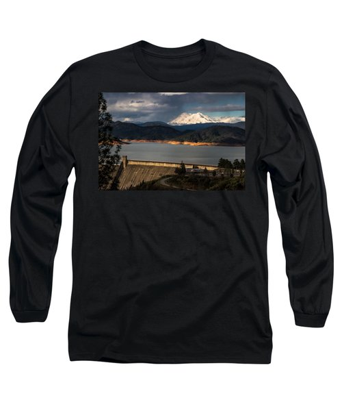 The Three Shasta's Long Sleeve T-Shirt