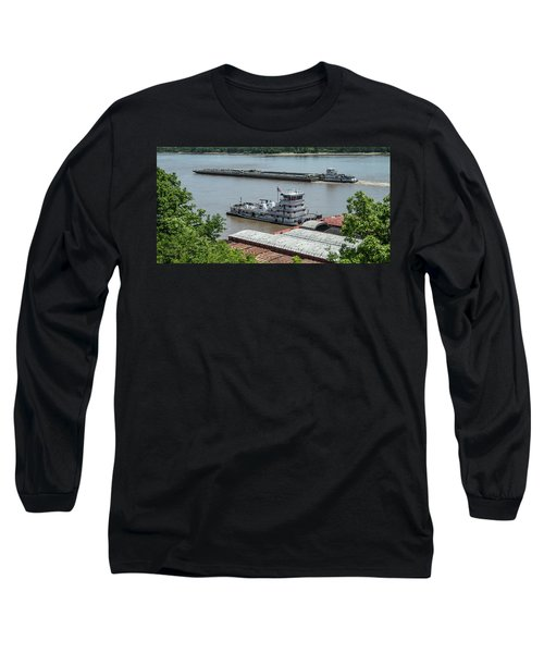 The Towboat Buckeye State Long Sleeve T-Shirt by Garry McMichael