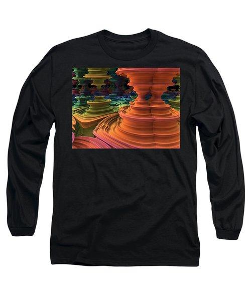 The Towers Of Zebkar Long Sleeve T-Shirt