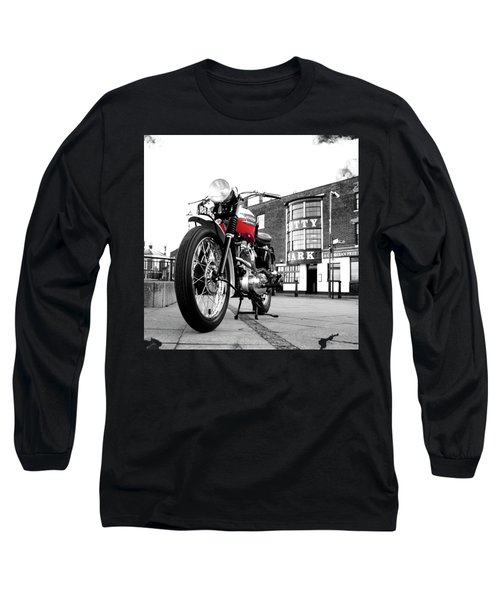 The Trophy Tr5 Motorcycle Long Sleeve T-Shirt