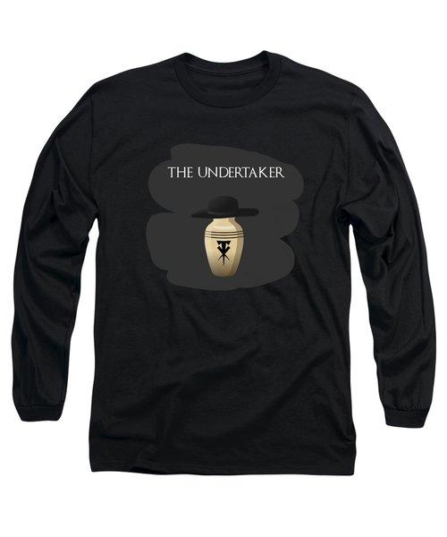 The Undertaker Retires Long Sleeve T-Shirt by Keshava Shukla