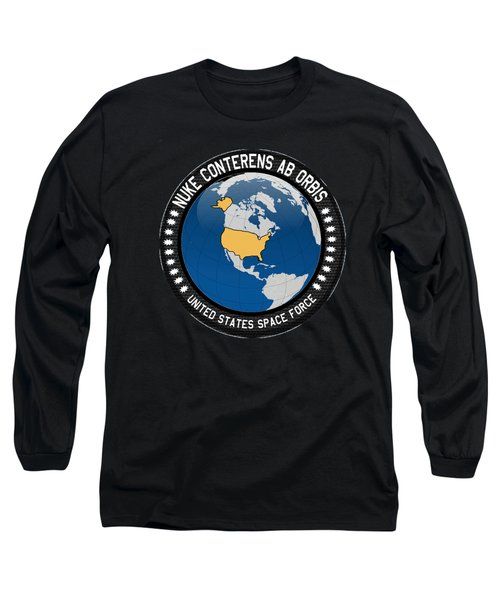 The United States Space Force Long Sleeve T-Shirt