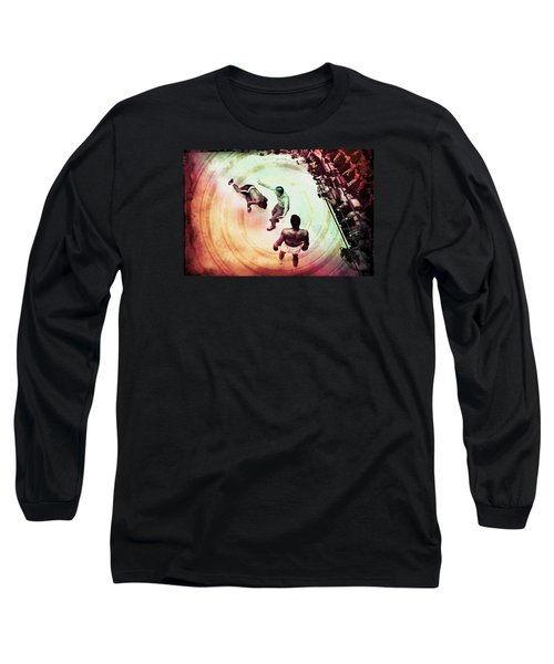 The Upset Long Sleeve T-Shirt by Allen Beilschmidt
