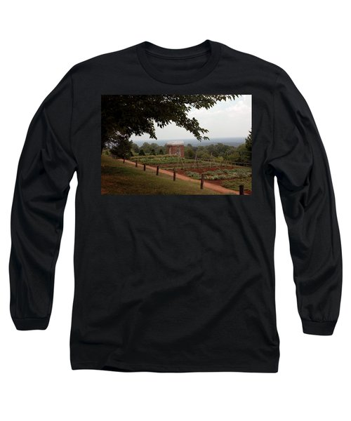 The Vegetable Garden At Monticello Long Sleeve T-Shirt