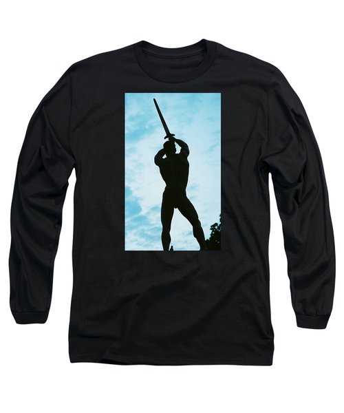 Long Sleeve T-Shirt featuring the photograph The Victor by Jake Hartz