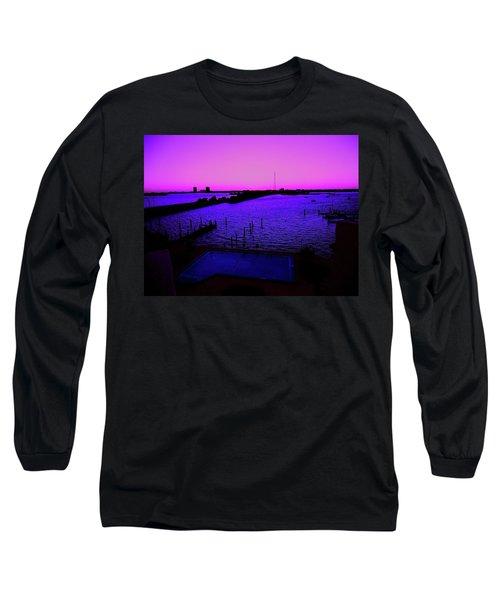 The Purple View  Long Sleeve T-Shirt