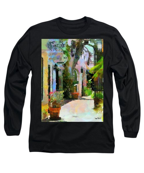 The Villa Long Sleeve T-Shirt by Wayne Pascall