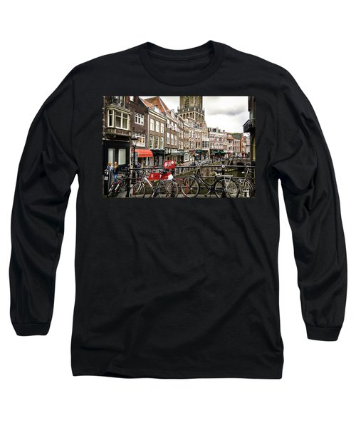 The Vismarkt In Utrecht Long Sleeve T-Shirt by RicardMN Photography