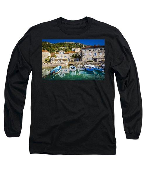 The Waiting Boats Long Sleeve T-Shirt