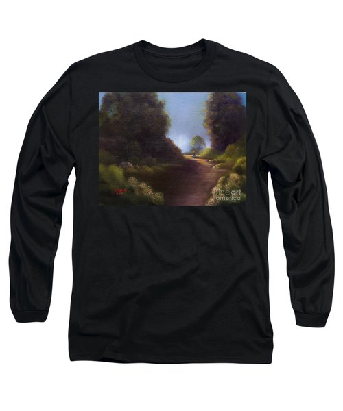 The Walk Home Long Sleeve T-Shirt by Marlene Book