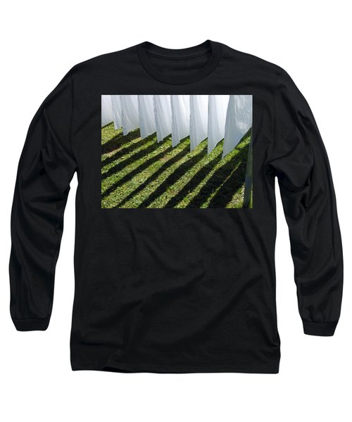 The Washing Is On The Line - Shadow Play Long Sleeve T-Shirt