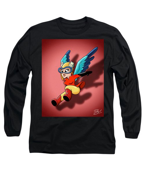 the WASP Long Sleeve T-Shirt by David Collins