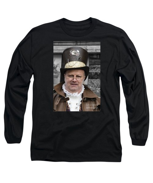 The Watchmaker Long Sleeve T-Shirt by David  Hollingworth
